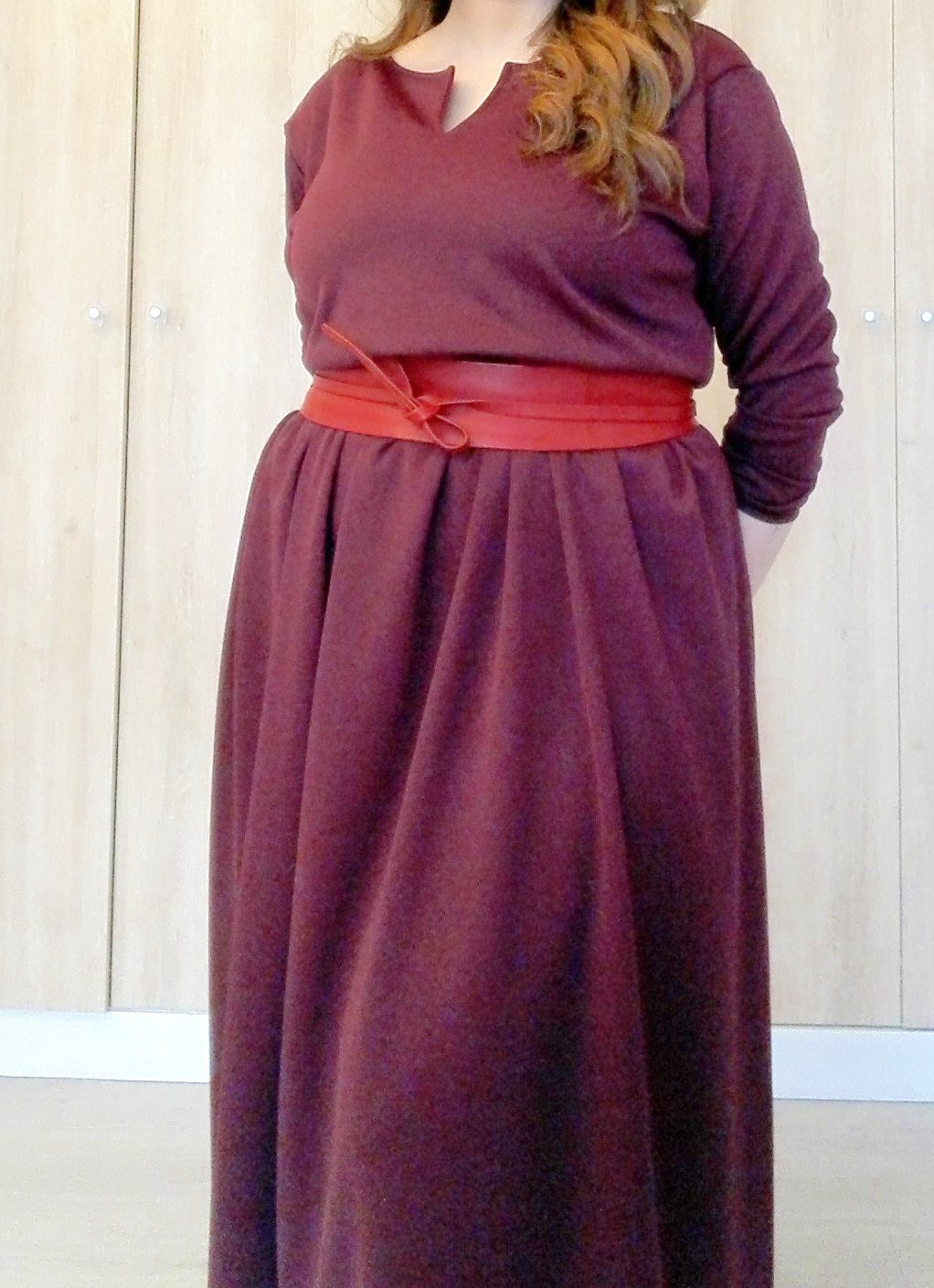 Robe longue 4 rectangles