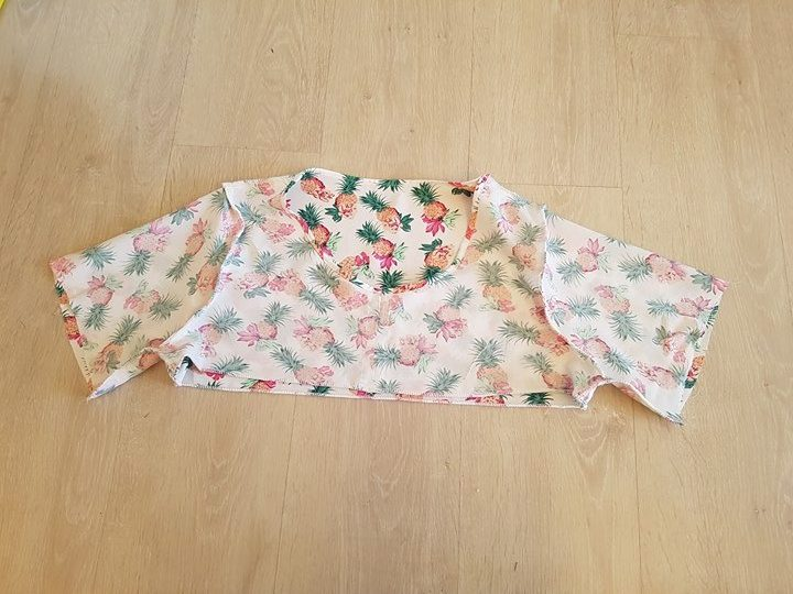 tuto blouse ample coupon couturette avril