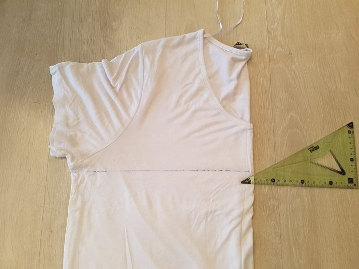 tuto recyclage t-shirt